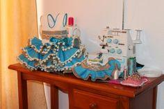 VESTIDOS DE FLAMENCA PARA NIÑAS en Jerez de la Frontera, Cádiz Birthday Candles, Birthday Cake, Prom Dresses, Costumes, Sewing, Children, Creative, Ideas, Small Boy