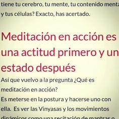 Nuevo podcast de #yoga en el que hablamos de #meditacion en accion. #callateyhazyoga