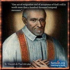 Daily Quote - St. Vincent de Paul #quotes #famvin