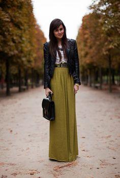 SpreadMilk: Faldas largas, la nueva sensación