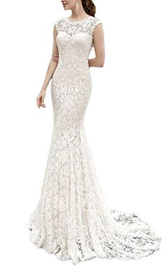 Cardol Women's Lace Mermaid Wedding Dresses for Bride Bac... https://www.amazon.com/dp/B01MDN9WLB/ref=cm_sw_r_pi_dp_x_TLyHybPE950W9
