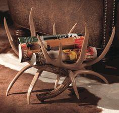 Antler Magazine Rack