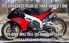 Does this apply to you? #smcbikes.com #bikehumour #meme #motorcycle #motorbike #joke #funny http://ift.tt/21P7sLp