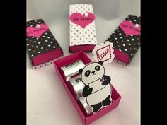 Party Pandas Pop Up Box Stampin Up - YouTube