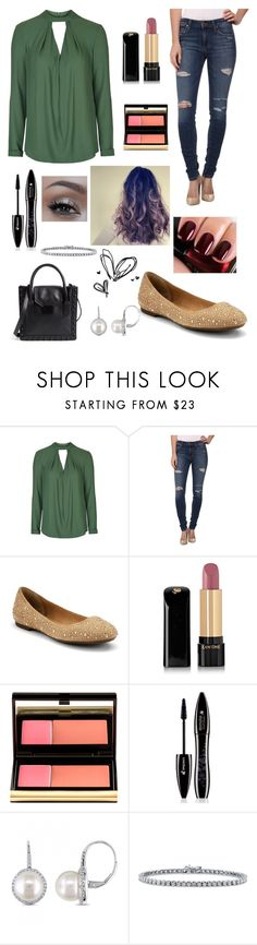 """I heart it"" by izzie1800 ❤ liked on Polyvore featuring Topshop, Joe's Jeans, Sperry, Lancôme, Kevyn Aucoin, Chanel, Urban Decay, Allurez, BERRICLE and Loeffler Randall"