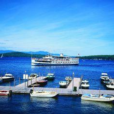 The M/S Mt. Washington Cruise, Lake Winnipesaukee, NH