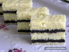 Nebíčka in his mouth - poppy seed cake with vanilla cream Cake Recept, Sweet Cakes, How Sweet Eats, Something Sweet, Holiday Desserts, Sweet Recipes, Cupcake Cakes, Cheesecake, Dessert Recipes