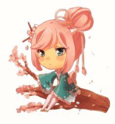 Commission - Sakura by *rosuuri on deviantART