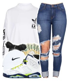 """Untitled #334"" by mindset-on-mindless ❤ liked on Polyvore featuring beauty, adidas and Retrò"