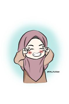 Islamic Cartoon, Hijab Cartoon, Hijabi Girl, Muslim Girls, Animated Cartoons, I Wallpaper, Girl Cartoon, Art Girl, Chibi