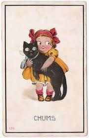 dolly dingle + black cat