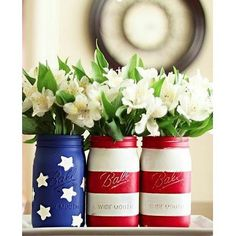 13 Easy Fourth of July DIYs Sure to Impress: Whether you're celebrating the Fourth of July with a full-blown bash or just a couple of sparklers after the sun sets, pump up the celebratory mood in your home by adding some Americana flair.