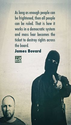 James Bovard Quote -