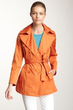 Rainforest  Short Trench Coat - I would wear this on a heartbeat