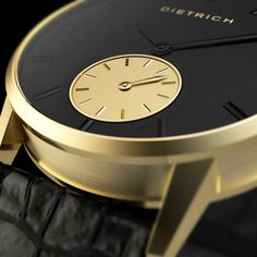 """Close up of the """"The Night"""" in yellow gold Close Up, Watch, Luxury, Yellow, Gold, Men, Night, Clock, Bracelet Watch"""