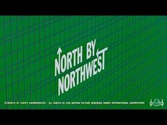 Saul Bass' title sequences for Alfred Hitchcock. Saul Bass designed three title sequences for Alfred Hitchcock: ✇ VERTIGO starring J. North By Northwest, Best Titles, Movie Titles, Alfred Hitchcock, Saul Bass Logos, Barbara Bel Geddes, Art Of The Title, Opening Credits, Title Card