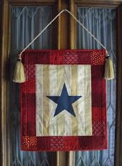 Americana Star. This would be an easy weekend project.
