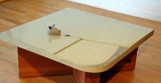 Concrete Coffee Table by Cheolsa Kim | CHENG Concrete Exchange