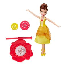 Disney Princess Dancing Doodles Belle Doll, Multicolor