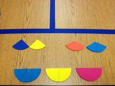 3rd Grade Gridiron: Fraction Manipulatives and Personal Space :)