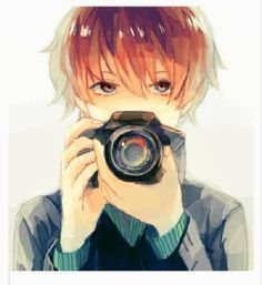 if i ever have a boyfriend, he'll like photography and girls with glasses and be all that kawaii shit girls dream about in a guy<<<--- yep the man that exists In our dreams.and anime. Hot Anime Boy, Boys Anime, Cute Anime Guys, I Love Anime, Awesome Anime, Brown Hair Anime Boy, Manga Anime, Manga Boy, Sad Anime