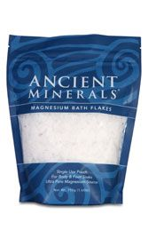 Ancient Minerals Magnesium Bath Flakes - where to buy (Magnesium defficiency is linked to increased morning sickness)