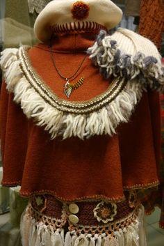 Crochet Necklace, Knitting, Jewelry, Fashion, Moda, Jewlery, Tricot, Jewerly, Fashion Styles