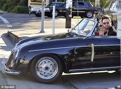 I'm not sure what is sexier, Adam Levine or his Porsche 356.