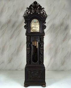 – Beautiful full-bodied women carved from hardwood and cast in bronze will be the featured attractions at North Georgia Antique Auction's Antique Clocks, Antique Decor, Mantel Clocks, Wall Clocks, Classic Clocks, Hanging Clock, Eames Chairs, Lounge Chairs, Ceiling Art