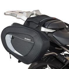 FZ/FJ Soft Saddlebags 1RC-F84H0-V0-00 Motorcycle Luggage, Motorcycle Gear, Motorcycle Accessories, Yamaha Logo, Yamaha Fz 07, Truck Storage, Bag Storage, Biker Chick, My Ride