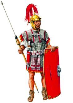 """""""Legionario romano, inicios del s. I dC."""", Ian Jackson"""