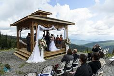 SilverStar Mountain Wedding #VernonBC