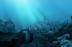 Atlantis undersea city