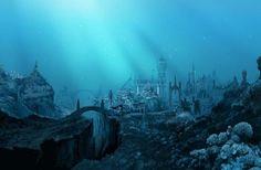 Atlantis undersea city