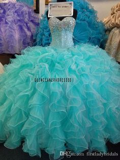 2016 Mint Green Quinceanera Ball Gowns Dresses Ruffles Sweetheart Beaded Crystals Sweet 16 Dresses Custom Made Vestido De 15 Anos On Line Champagne Quinceanera Dresses Cheap Ball Gown Dresses From Firstladybridals, $116.1| Dhgate.Com
