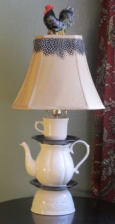 French Country lamp by Home Craft Designs.