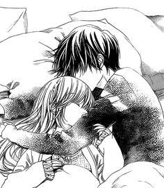 Manga couple, cute