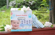 Honest Diapers Anchor Print from our Our Top Natural Picks for Baby & Mother #HonestatTarget #HonestCoForTarget #spon