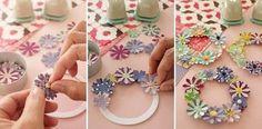 MINI PAPER FLOWER WREATH - matsumoto_11_11_07