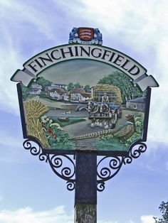Finchingfield, Essex Essex England, Different Signs, English Village, Pub Signs, Place Names, Vintage Signs, Signage, Britain, City