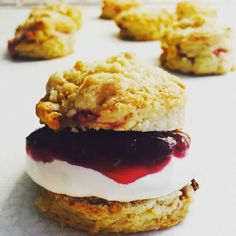 Jo's Blue AGA: Strawberry Shortcake Scones