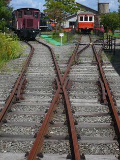 Kaya station, SL, old train, railroad, Kyoto