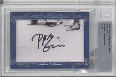 2012 BGS Leaf Cut Signature D 1 1 Pam Grier Autograph Jackie Brown Foxy Brown | eBay