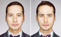 Do These Identical Twins Look The Same To You? Interesting photography project, and beautiful portraits.