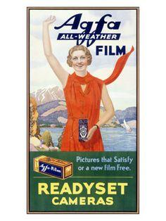 Cameras & film (vintage posters) Poster bij AllPosters.nl