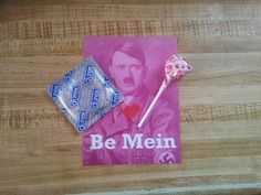Forget the condom and i would totally hand these out to everyone i know!