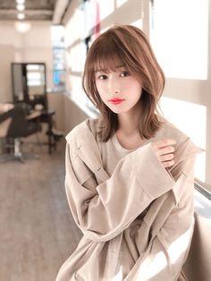 Short Hairstyles For Women, Bob Hairstyles, Hair Dos, My Hair, Medium Hair Styles, Short Hair Styles, Hear Style, Japanese Hairstyle, Japanese Short Hair