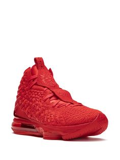 Nike Lebron 17 Sneakers Ss20   Farfetch.Com Nike Red Sneakers, Air Max Sneakers, Lebron 17, Nike Lebron, Us Man, World Of Fashion, Basketball Shoes, Nike Air Max, Women Wear