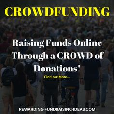 Do you want 5 fundraising ideas that get started quickly? Number THREE is CROWDFUNDI ., Do you want 5 fundraising ideas that get started quickly? Number THREE is CROWDFUNDING - Find out the other 4 ideas here: www. Online Donations, Raise Funds, Fundraising Ideas, How To Get Money, Get Started, Numbers, About Me Blog, Fundraisers, Box
