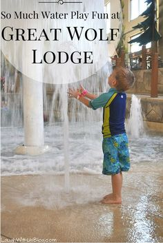 Slides, wave pool, water forts, pools--there's plenty of water play fun for all ages at Great Wolf Lodge Grapevine.